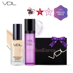 VDL Perfecting Last Foundation Beauty Finisher Set 30ml [Monthly Limited -Feburary 2018]